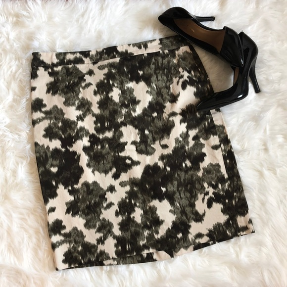 Clothing, Shoes & Accessories 2019 New Style J.crew Seahorse Printed Cotton Sateen Skirt Women Size 6 Blue White Women's Clothing